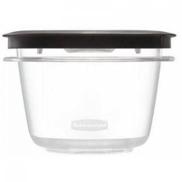 Rubbermaid Premier Stain Shield Food Storage Container, 2-Cup
