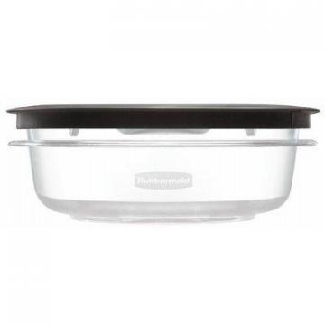 Rubbermaid Premier Stain Shield Food Storage Container, 3-Cup