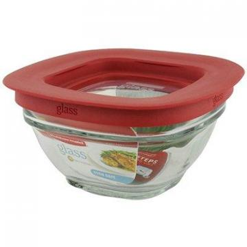 Rubbermaid Food Storage Container, Glass, 1-Cup Square