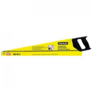Stanley Crosscut Hand Saw, Tempered Steel Blade, 26-In.