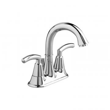 "American Standard Tropic 4"" Bathroom Faucet with Speed Connect Pop-Up Drain in Polished Chrome"