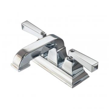 "American Standard Town Square 4"" 2-Handle Low-Arc Bathroom Faucet in Polished Chrome Finish"