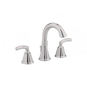 "American Standard Tropic 8"" Widespread Bathroom Faucet with Metal Speed Connect Pop-Up Drain"