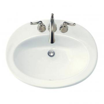 "American Standard Piazza Bathroom Sink with 4"" Centres"