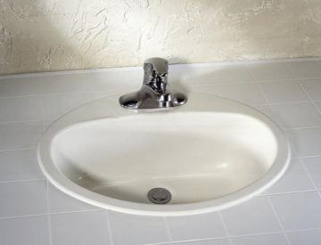 "American Standard Ovation 4"" Bathroom Sink Basin in Enamelled Steel"