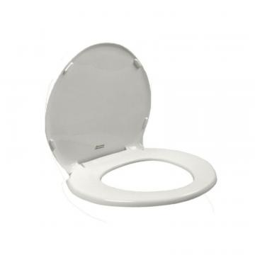 American Standard Champion Slow Close Round Closed Front Toilet Seat in White