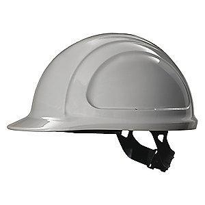 Honeywell Front Brim Hard Hat, 4 pt. Pinlock Suspension, Gray