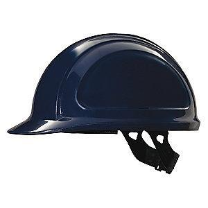 Honeywell Front Brim Hard Hat, 4 pt. Pinlock Suspension, Navy
