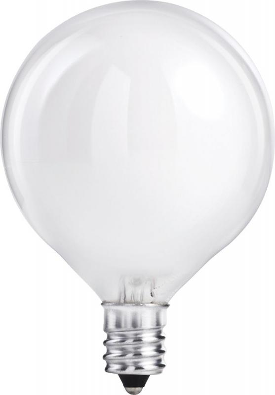 Philips Halogen 40W Globe (G16.5) White 2 Pack
