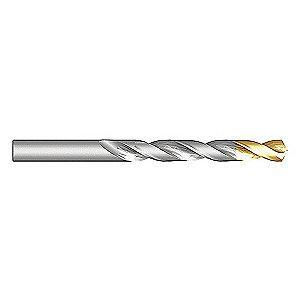 "Dormer Jobber Drill Bit, 19/64"", High Speed Steel, TiN, A012S"