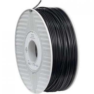 Verbatim ABS Filament 3MM 1KG Reel Black +0.05MM
