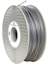 Verbatim 2.85mm Silver/Grey PLA Filament for 3D Printer, 119m Reel, 1kg