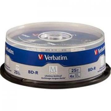 Verbatim BD R 25GB 4x Brded Surf Spndle