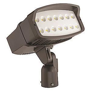 Lithonia 14,510 Lumens LED Floodlight, Dark Bronze, Replacement For 400W MH