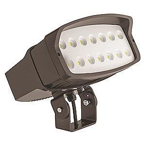 Lithonia 14,900 Lumens LED Floodlight, Dark Bronze, Replacement For 400W MH