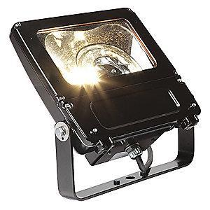 GE 6600 Lumens LED Floodlight, Bronze, Replacement For 150W QH
