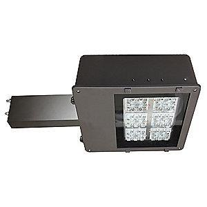 Lumapro 8400 Lumens LED Floodlight, Dark Bronze, Replacement For 100W HPS/MH
