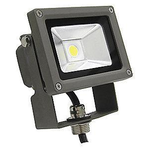 Lumapro 1260 Lumens LED Floodlight, Bronze, Replacement For 75W INC/18W-20W CFL