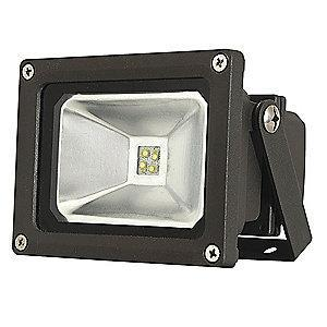 Lumapro 950 Lumens LED Floodlight, Bronze, Replacement For 75W INC/18W-20W CFL