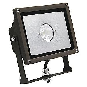 Lumapro 2000 Lumens LED Floodlight, Bronze, Replacement For 100W INC/23W-26W CFL