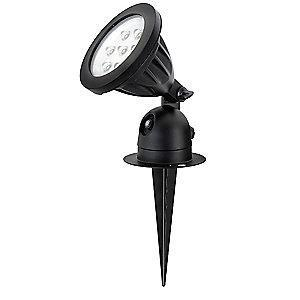 Lumapro 466 Lumens LED Floodlight, Black