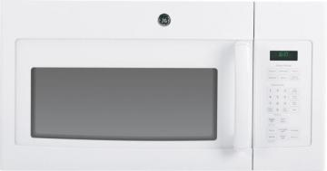 GE 1.6 cu. ft. Over-the-Range Microwave Oven in White