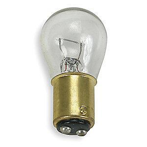 GE Trade Number 1142, 18.0W Miniature Incandescent Bulb, S8, Double Contact Bayonet (BA15d)