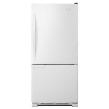 Whirlpool 18.7 cu. ft. Refrigerator with Bottom Mount Freezer and Accu-Chill System in White