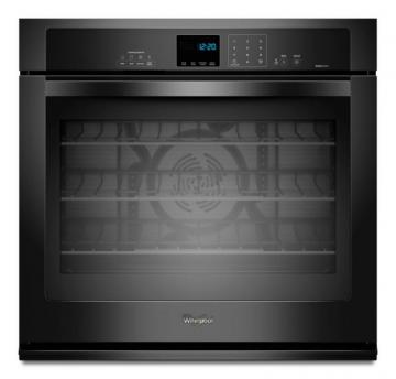 Whirlpool Gold  4.3 cu. ft. Single Wall Oven with True Convection Cooking in Black