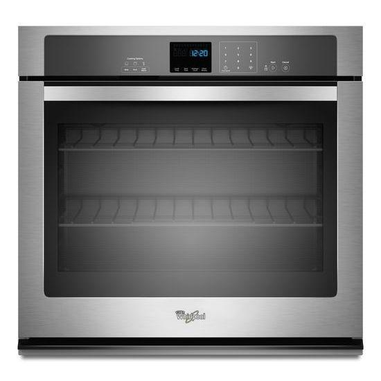 Whirlpool 5.0 cu. ft. Single Wall Oven with Extra-Large Window in Stainless Steel
