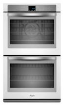 Whirlpool Gold  10 cu. ft. Double Wall Oven with True Convection in White