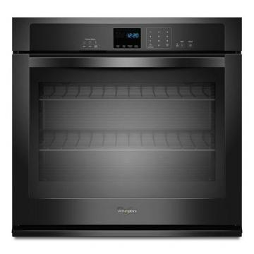 Whirlpool 5.0 cu. ft. Single Wall Oven with Extra-Large Window in Black