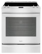 Whirlpool 6.2 cu. ft. Slide-in Electric Range with TimeSavor Plus True Convection in White