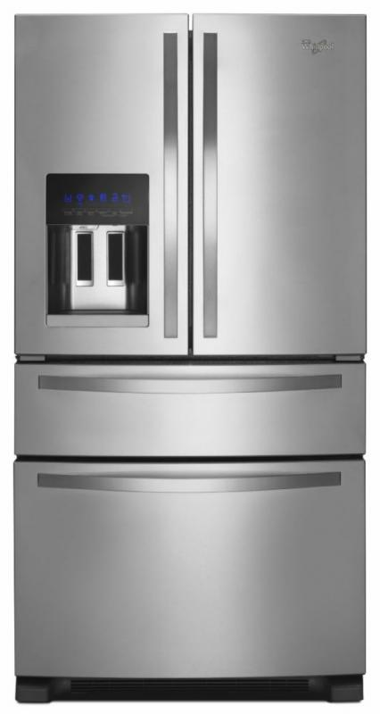 Whirlpool 24.5 cu. ft. French Door Refrigerator with External Refrigerator Drawer in Stainless