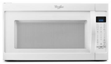 Whirlpool 2.0 cu. ft. Microwave Hood Combination Oven with Non-stick Interior in White