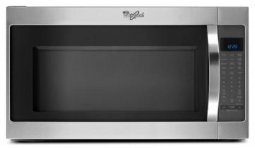 Whirlpool 2.0 cu. ft. Microwave Hood Combination Oven with Non-stick Interior in Stainless Steel
