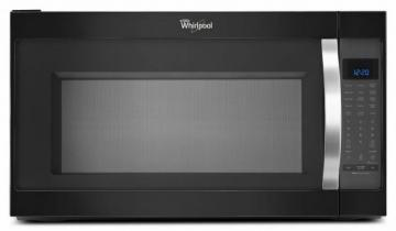 Whirlpool 2.0 cu. ft. Microwave Hood Combination Oven with Non-stick Interior in Black