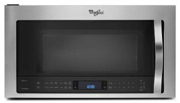 Whirlpool 1.9 cu. ft. Microwave Hood Combination with TimeSavor Plus True Convection in Stainless