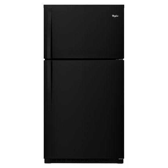 Whirlpool 21.3 cu. ft. Top Freezer Refrigerator in Black