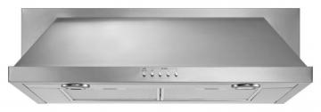 "Whirlpool 36"" 400 CFM Convertible Under Cabinet Hood in Stainless Steel"