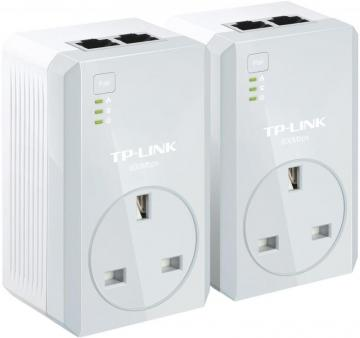TP-Link AV600 2 Port Passthrough Powerline Kit