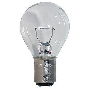 LumaPro Trade Number 1724, 28 Watts Miniature Incandescent Bulb, S11, BA15d Bayonet