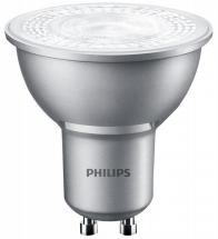 Philips 4.3W Dimmable GU10 LED Bulb, 4000K