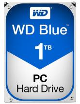 "WD Blue 3.5"" Internal HDD SATA 6GB/s - 1TB, 7200RPM"