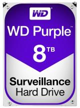 "WD Purple Surveillance 3.5"" Internal HDD SATA 6Gb/s, 8TB"