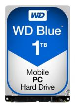"WD Blue 2.5"" Mobile Internal HDD SATA 6GB/s - 1TB, 5400RPM"