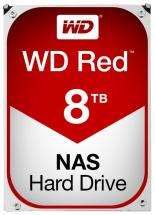 "WD Red NAS 3.5"" Internal HDD SATA 6GB/s - 8TB, 5400RPM"