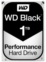 "WD Black 3.5"" Internal HDD SATA 6GB/s - 1TB, 7200RPM"