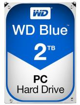 "WD Blue 3.5"" Internal HDD SATA 6GB/s - 2TB, 5400RPM"