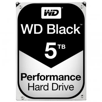 "WD Black 3.5"" Internal HDD SATA 6GB/s - 5TB, 7200RPM"